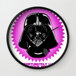 Luke, I am your mother Wall Clock