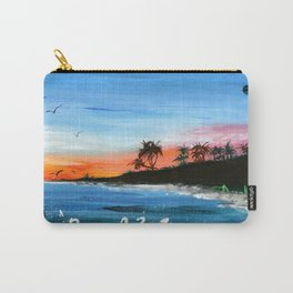 """PEACEFUL LIVING""  Carry-All Pouch"