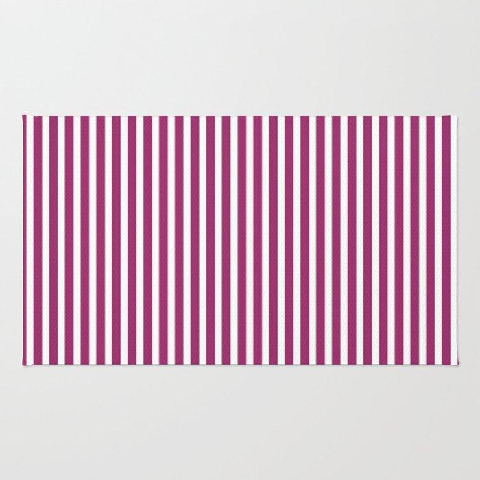 Festival Fuchsia Stripes Rug