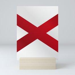 Alabama Sate Flag Gloss Mini Art Print