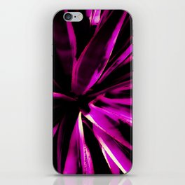 Vibrant Purple and Pink iPhone Skin