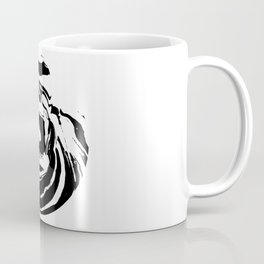 World's Threshold Black and White Marbling, Marbles Lost Coffee Mug