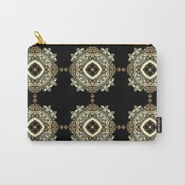Golden Eastern ornament . Carry-All Pouch