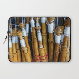 Bolillos or Lace Spindles Laptop Sleeve