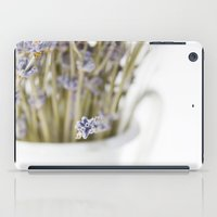 lavender iPad Cases featuring lavender by Ingrid Beddoes