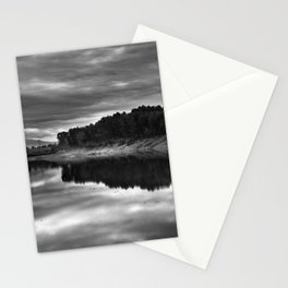 Clouds on the water Stationery Cards