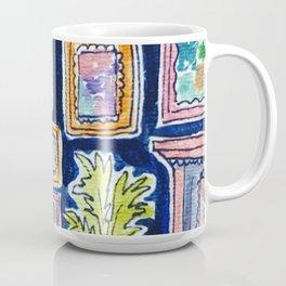 Living Room in Blue (Full Image Size) Coffee Mug