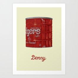 The Lebowski Series: Donny Art Print