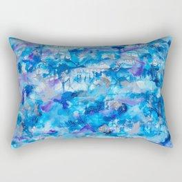 """""""Florida Spring Rain"""" Rectangular Pillow"""