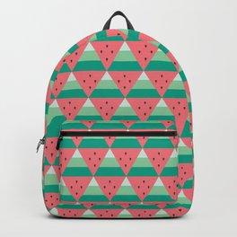 Geometric Summer Watermelon Backpack