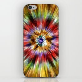 Colorful Tie Dye iPhone Skin