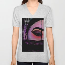Beauty is in the Eye of the Beholder Unisex V-Neck