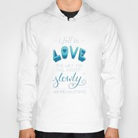 tfios Hoodies featuring TFIOS: Fell in Love by Jess Matthews Design