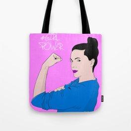 #Girl Power Tote Bag