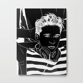 Brooklyn Beckham  Metal Print