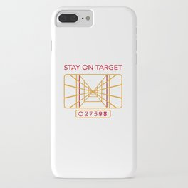 Stay on Target iPhone Case