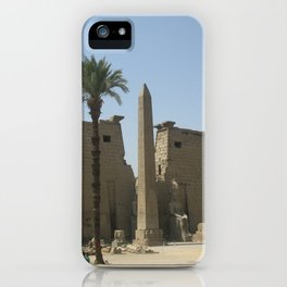 Temple of Luxor, no. 2 iPhone Case