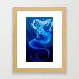 Blue Depths Framed Art Print