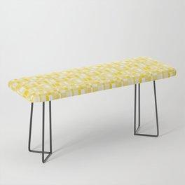 Mod Gingham - Yellow Bench