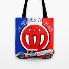 24 Hours of Le Mans - Toyota TS050 Tote Bag