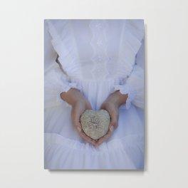 Heart of stone Metal Print