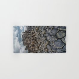 The world of hexagonal stones Hand & Bath Towel