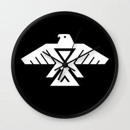 Thunderbird flag - HQ file Inverse version Wall Clock
