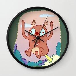 Dumb Pisser Wall Clock