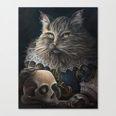 William Shakesbeard Canvas Print