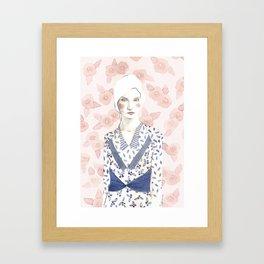 Klara Framed Art Print