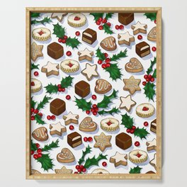 Christmas Treats and Cookies Serving Tray