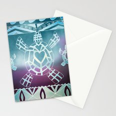 Tribal Sea Turtle Stationery Cards
