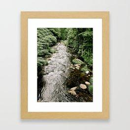Flowing Stream Framed Art Print