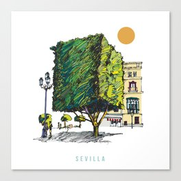 Sevilla 2 Canvas Print