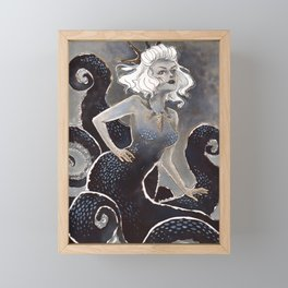 Sea witch Framed Mini Art Print