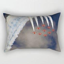 aerobatic aircraft airshow Rectangular Pillow