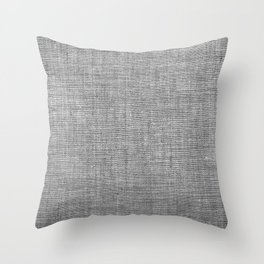 Canvas texture fashion design Throw Pillow