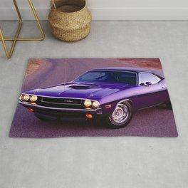 1970 Plum Crazy Purple 426 Hemi Challenger RT Rug