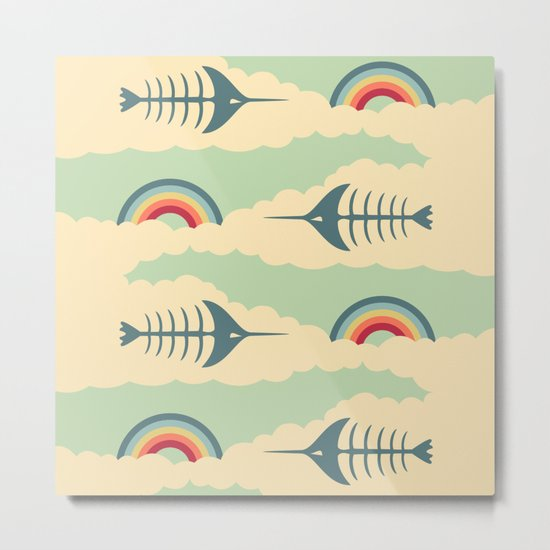 bittersweet pattern Metal Print