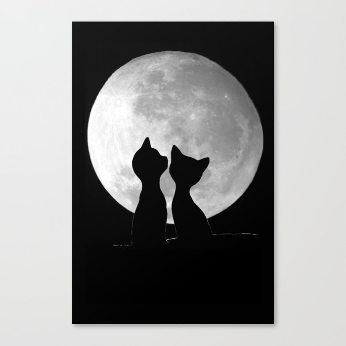 Love is Togetherness Canvas Print