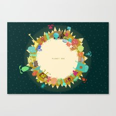 Planet One Canvas Print