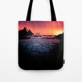 Silhouettes in the Desert Tote Bag