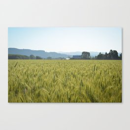 Country Fields Canvas Print