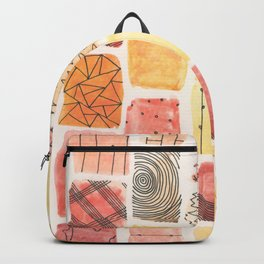Mini Swatch Ink Sketches Backpack