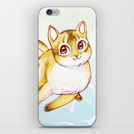 Floating Kitty iPhone Skin