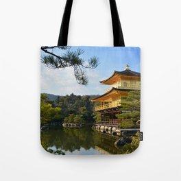 The Kinkaku-ji in Kyoto Tote Bag