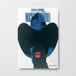 Midnight Cowboy Schlesinger Hoffmann Voigt Limited Edition 1973 Metal Print
