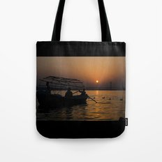 the last ride home... Tote Bag