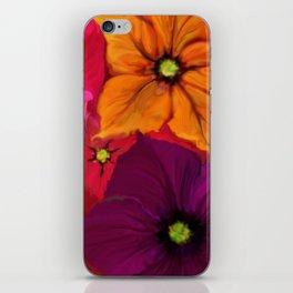 Surfinie and anemones iPhone Skin