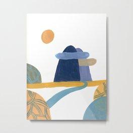 Surreal landscape Metal Print
